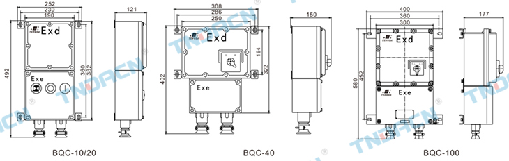 井下磁力启动器的接线图原理图